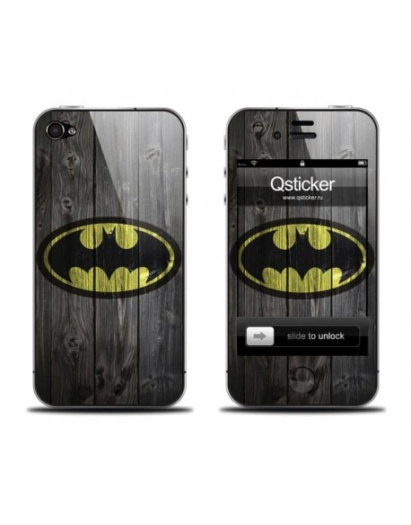 Samolepka pro iPhone 4/4S - Batman
