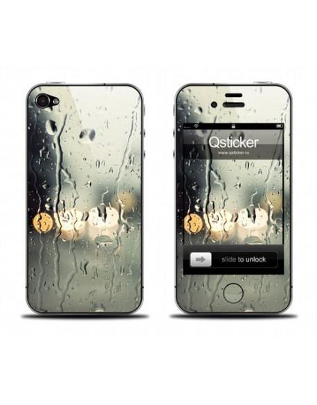 Samolepka pro iPhone 4/4S - Rain