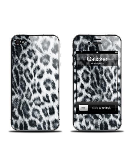 Samolepka pro iPhone 4/4S - Snowleo
