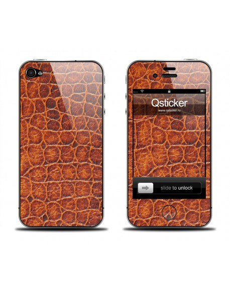 Samolepka pro iPhone 4/4S - Aligator