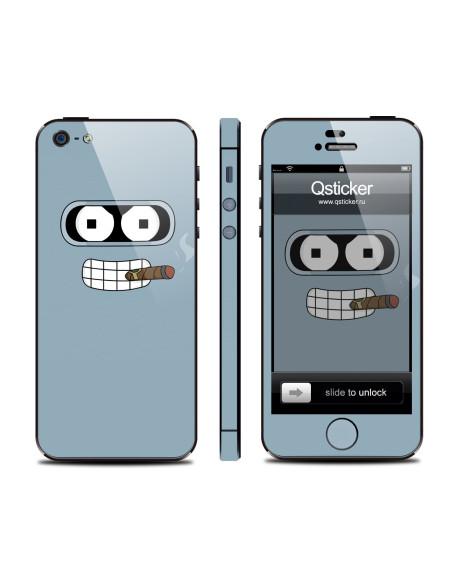 Samolepka pro iPhone SE/5s/5 - Bender