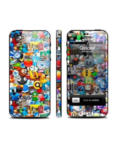 Samolepka pro iPhone SE/5s/5 - Logos