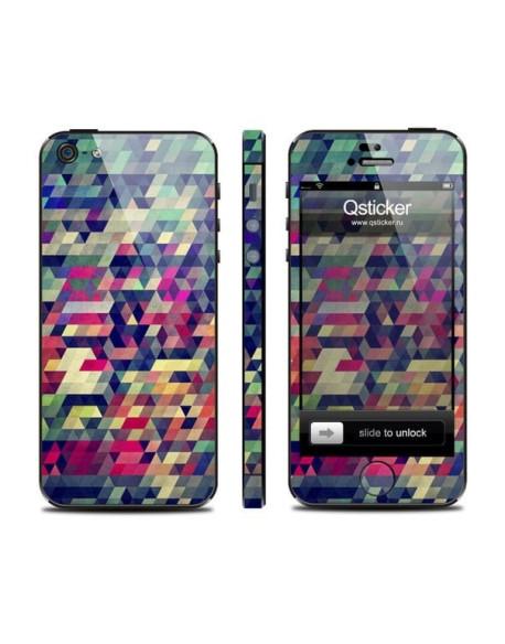 Samolepka pro iPhone SE/5s/5 - Puzzle