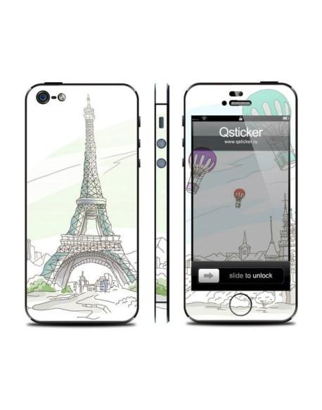 Samolepka pro iPhone SE/5s/5 - Paris