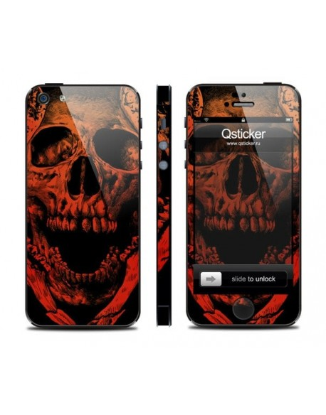 Samolepka pro iPhone SE/5s/5 - Death