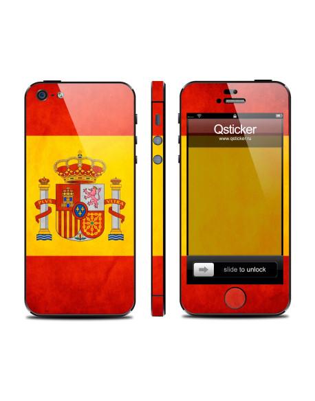 Samolepka pro iPhone SE/5s/5 - Spain