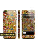 Samolepka pro iPhone SE/5s/5 - Neon WTF