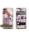 Samolepka pro iPhone SE/5s/5 - Neon Hohloma
