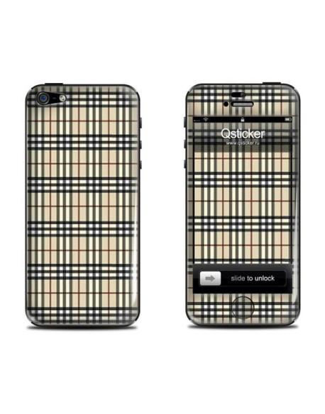 Samolepka pro iPhone SE/5s/5 - Burberry