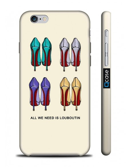 Kryt pro iPhone 6s/6 - Louboutin
