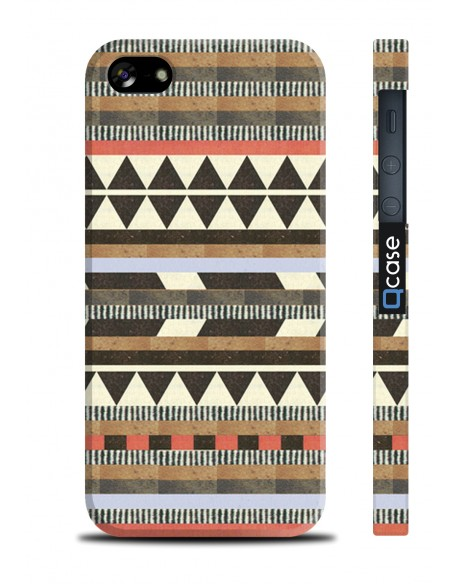 Kryt pro iPhone SE/5s/5 - Aztec