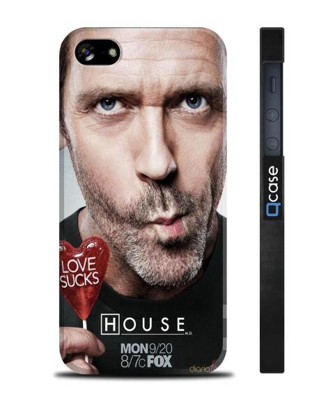 Kryt pro iPhone SE/5s/5 - House