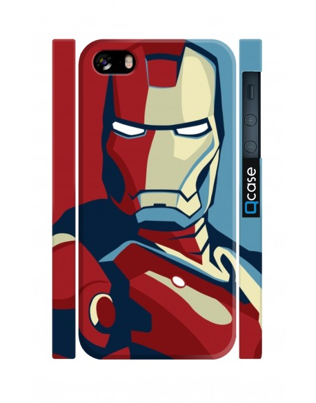 Kryt pro iPhone SE/5s/5 - Iron Man