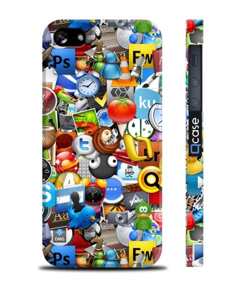 Kryt pro iPhone SE/5s/5 - Logos